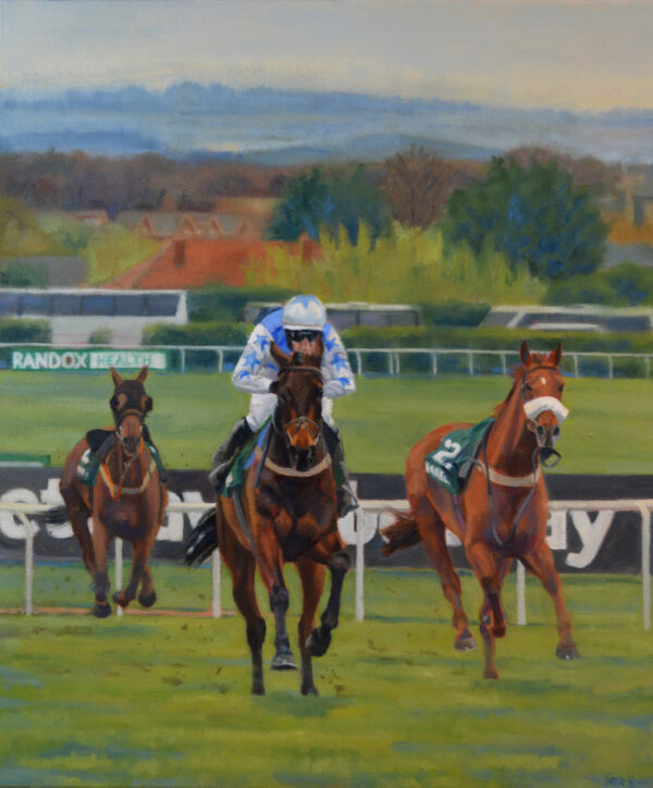 Approaching the Elbow Aintree